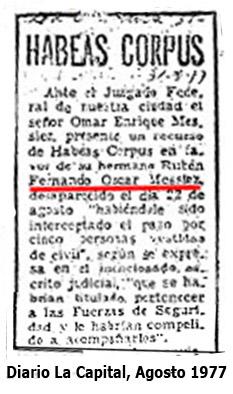 habeas corpus por Tito